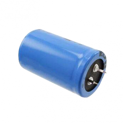 Button capacitor aluminum foil